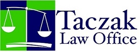 Taczak Law Office Scale of Justice Logo